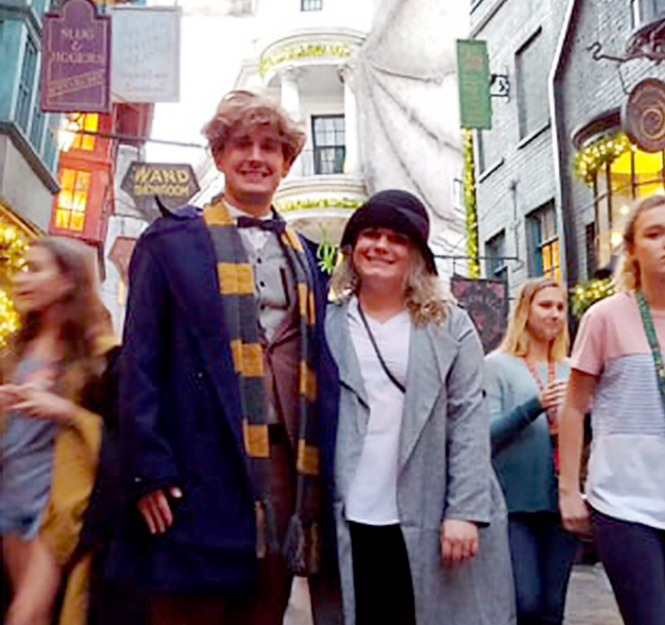Marc Hyntka at Harry Potter's Wizarding World