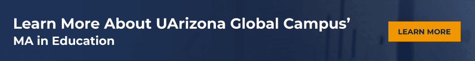 Learn More About UArizona Global Campus' MA in Education